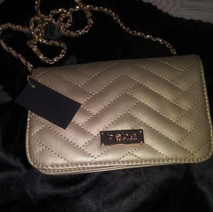 BEBE Gold Purse and or wallet